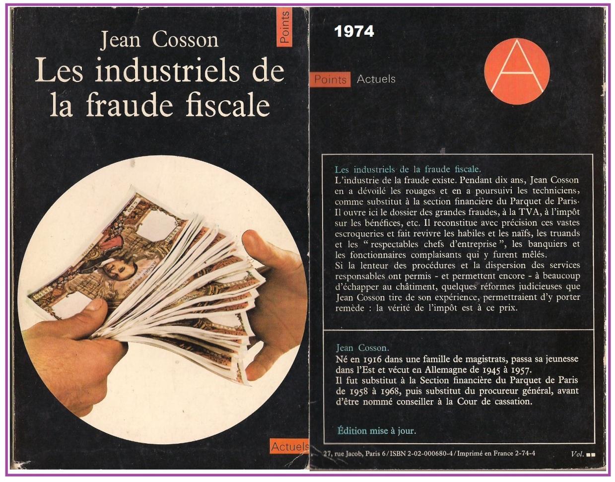 Cosson FAUDE FISCALE