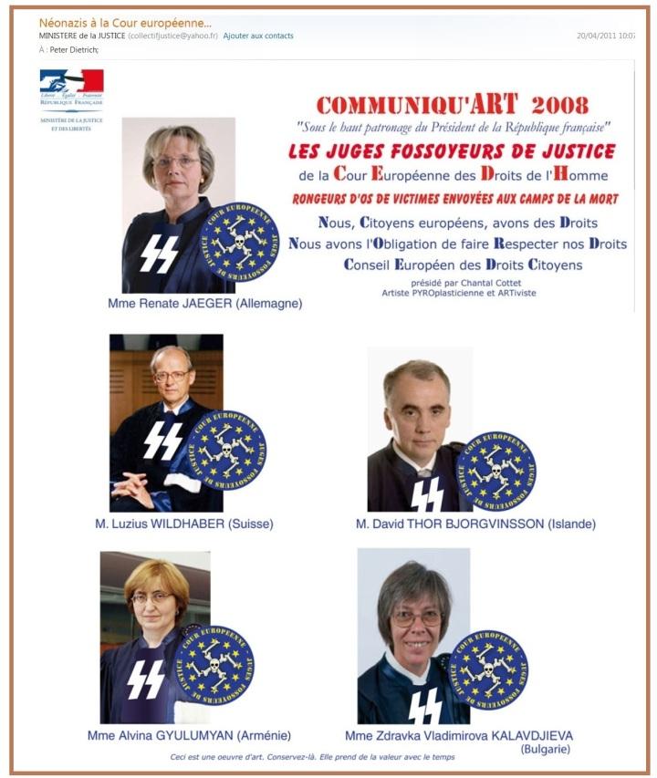 Néonazis Cour européenne
