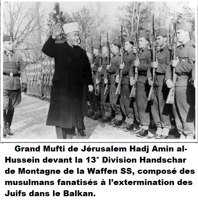 Yasser Arafat cousin Grand Muti Jérusalem
