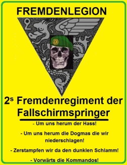 Zassel triangle REP Tête de Mort Allemand