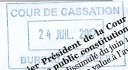 Premier Président de la Cour de Cassation Bertrand Louvel.