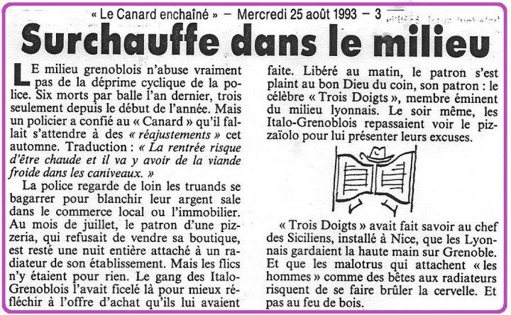 Grenoble Maffia Surchauffe