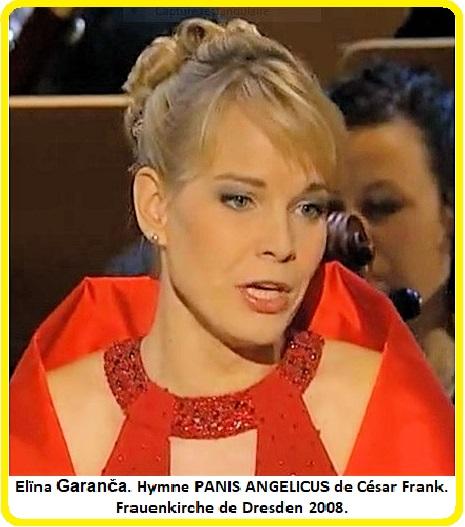 Elïna Garanča Panis Angelicus César Frank