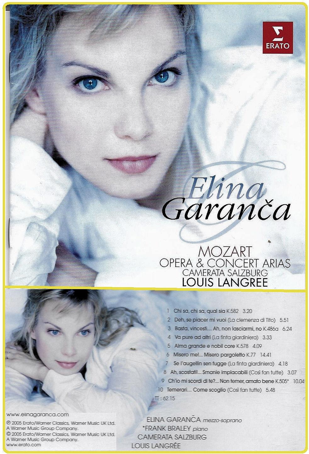 Elïna Garanča Album Mozart Concert Arias