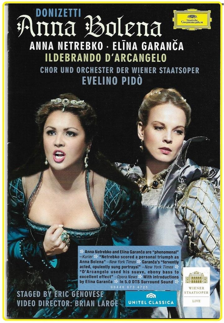 Anna Netrebeko & Elina Garança. Anna Bolena.