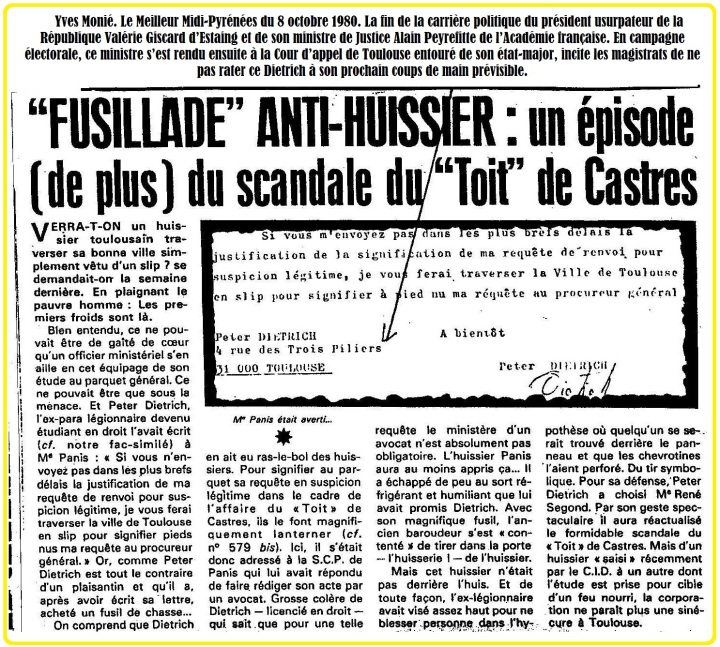 Fusillade épisode de Castres