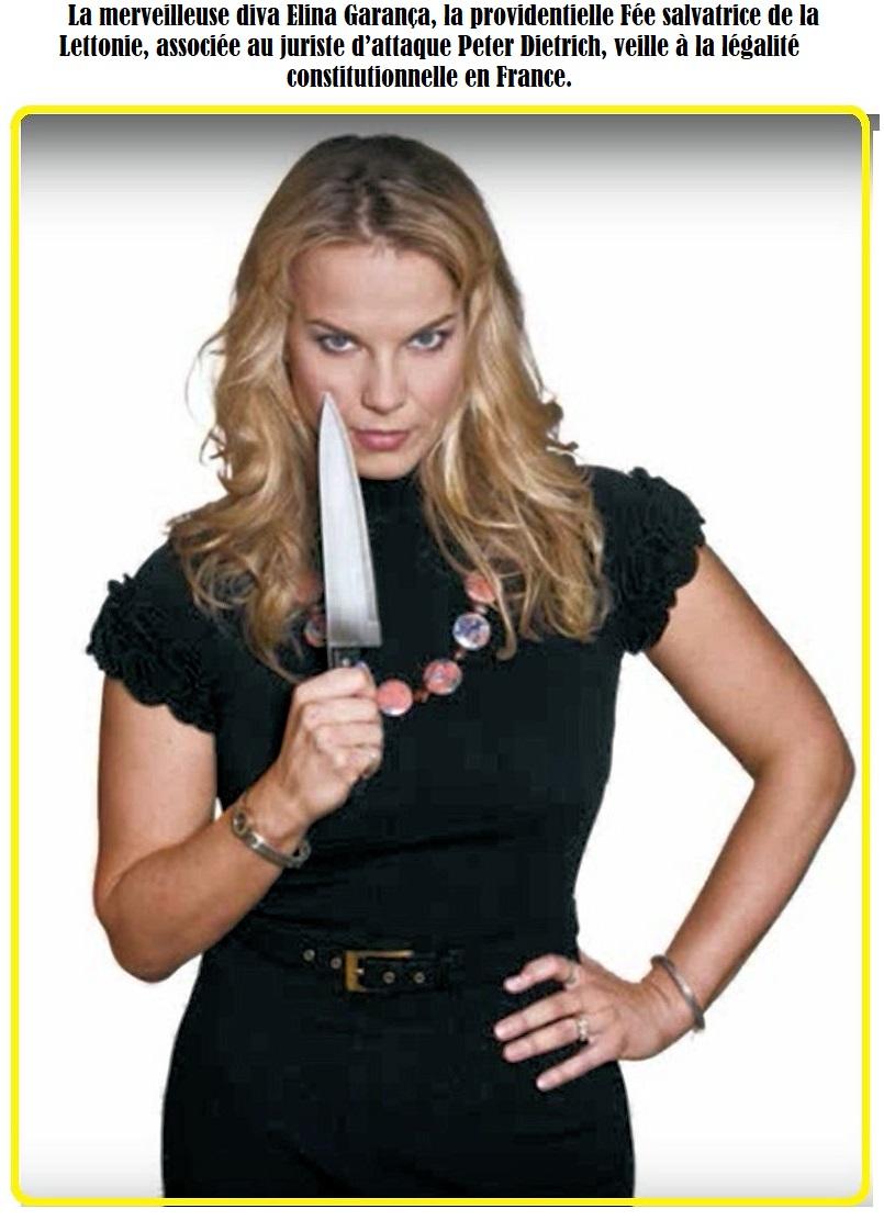 Elīna Garanča Avec couteaux B
